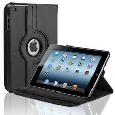 Cuero De 360 Grados De Rotación Soporte Funda Protectora Para Apple Ipad 2 / 3 / 4