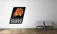 Phoenix Suns Logo Wall Decal NBA Basketball Decor Sport Mural Vinyl Sticker
