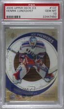2005-06 Upper Deck Ice /1999 Henrik Lundqvist #137 PSA 10 Rookie