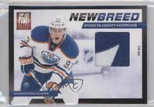 2011 Panini Elite New Breed Materials Prime #18 Ryan Nugent-Hopkins Hockey Card