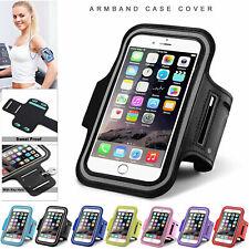 Apple iPhone Gym Running Yoga Jogging Armband Case Key Holder For Samsung Phones