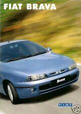 FIAT BRAVA 1999-2002 UK Opuscolo Vendite sul mercato SX ELX HSX 80 100 115 TD Multijet