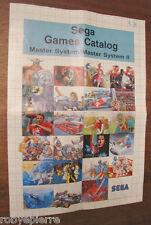 Sega games catalog catalogo giochi videogiochi video master system I II 3006
