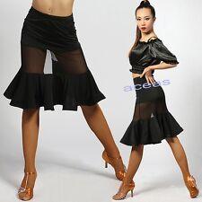 Adult Women's Dancewear Latin Rumba Dance Practice Skirts Cha Cha Samba Ballroom