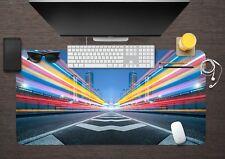 3D City Road 56  Non-slip Office Desk Mouse Mat Game