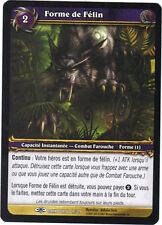 World of Warcraft n° 19/319 - Forme de  Félin
