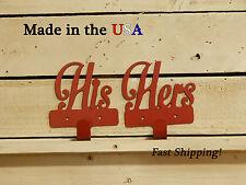 His/Her Metal Hooks-Coat Hooks-Wedding Gifts-Couples Decor-Key Hooks-CR1035