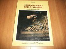 CLIZIA-L'ARTIGIANATO DELLA STAMPA-DANIELA PIAZZA ED.-1983-I MESTIERI ARTIGIANI