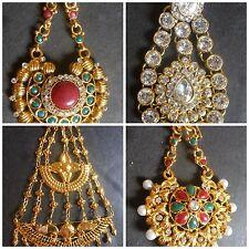 Indian Bollywood Dance Bridal Lehnga Hair Accessory Passa Variations Jhoomer