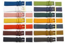 Belle Vitello Leather Watch Strap Band Scelta di Colori 16mm 18 mm 20mm
