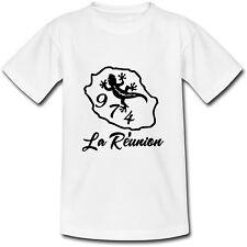 T-shirt Adulte La Réunion 974 - du S au 2XL