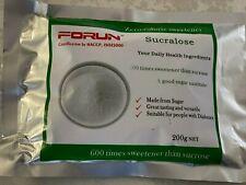 FORUN Premium Grade Pure Sucralose (50G-2KG)- Best sugar substitutes