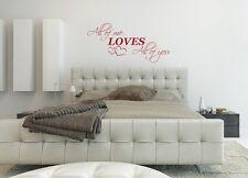 John Legend All of me loves all of you wall art sticker love Home lyrics Bedroom