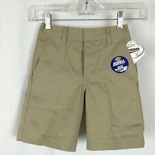 Dickies Boys Shorts Size 4 - 7 School Uniform Plain Front 54362
