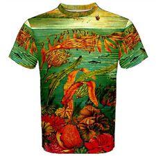 Seaweed T-Shirt Sea Ocean All Over print XS-3X Hawaiian style Edsmyth designs