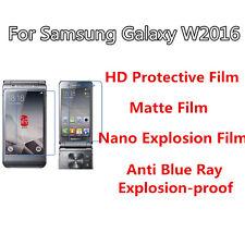 3pcs For Samsung W2016 High Clear/Matte/Nano Explosion/Anti Blue Ray Screen Film
