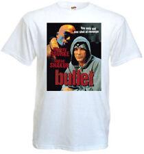 Bullet v2 T shirt white movie poster all sizes S-5XL