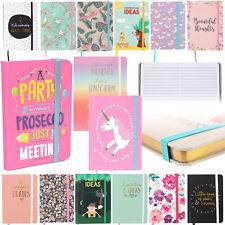 Pocket Size Cute Notebook Idea Book Journal Hardback Child Notepad Jotter A5 A6