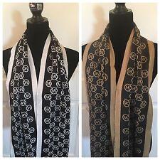 Michael Kors MK Circa Argyle Framed Print Scarf Pick Color Knit MSRP $68 NEW