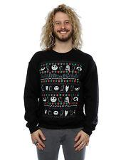 Disney hombre Nightmare Before Christmas Festive Icons Camisa de entrenamiento