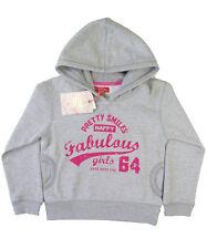Funky Diva girls 2 yr 3 yr 4 yr 5 yr 6 yr grey pullover hoodie