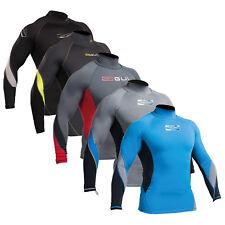 GUL XOLA  Mens Long Sleeve Rash Vest Guard Diving Jetski bodyboard UV Surf Top