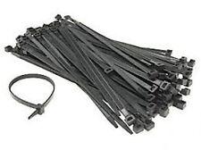 Nailon plástico amarra Cable Lazos envuelve 240mm Negro kamsat
