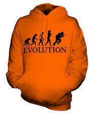 SPEEDBALL EVOLUTION OF MAN UNISEX HOODIE MENS WOMENS LADIES GIFT PAINTBALL