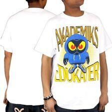 Akademiks para Hombre Hip Hop Edukater Star Verano Patinador Camiseta Tiempo Dinero G es YLW