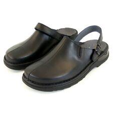 Stuppy Herren Schuhe Pantoletten/Clogs Leder schwarz 12765 Wechselfußbett