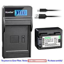 Kastar Battery LCD Charger for Canon BP-718 CG-700 Canon VIXIA HF R800 Camera