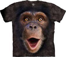 The Mountain Unisex Child Happy Chimp Animal T Shirt