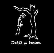 Death Is Better - Hanging in Tree TS men's short sleeve black Razed Soul