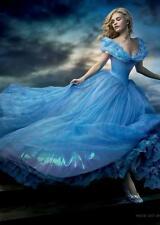 Cenerentola Disney senza testo movie poster film a4 a3 arte stampa cinema