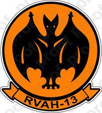 STICKER USN RVAH 13 Bats