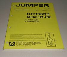 Werkstatthandbuch Elektrik Citroen Jumper Stand 08/2001