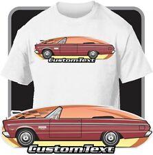 Custom Art T-Shirt 65 1965 Plymouth Fury II III 426 Convertible Rag Top Sport V8