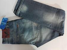 """VOI Jeans """"DESTROY""""  Herren Straight Leg Jeans  W28 - 40   blau  NEU mit Etikett"""