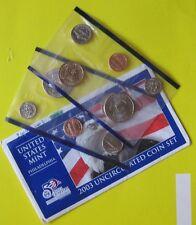 10 Monete Fior Di Conio 2000 - 2003 Stati Uniti - Zecca di Philadelphia