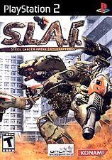 S.L.A.I.: Steel Lancer Arena International GAME for Playstation 2 PS2 V SLAI USA