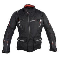 Oxford Montreal 2.0 Textile Waterproof Motorbike Motorcycle Jacket Black Touring