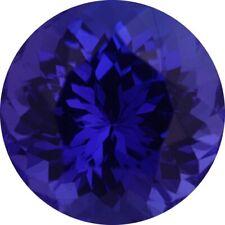 Natural Extra Fine Deep Blue Purple Tanzanite - Round - Tanzania - AAA+ Grade