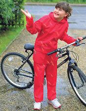 Result Kinder Regenanzug Regenjacke Regenhose Wind- und wasserdicht 104-152