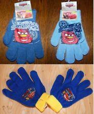 PAIRE DE GANT gants Enfant CARS DISNEY taille unique GARCON VOITURE BLEU MITAINE