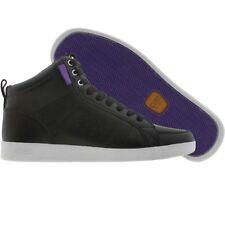 $130 Clae Russell black purple premium lux fashion sneakers