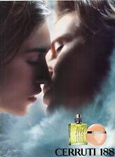 PUBLICITE ADVERTISING   2000  CERRUTTI 1881  parfum