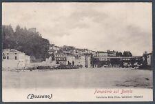 VICENZA BASSANO DEL GRAPPA 26 Fiume BRENTA Cartolina viaggiata 1902