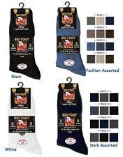 Mens Executive 100% Cotton Dress Socks in Big & Tall Size UK 11-14 EUR 45-49