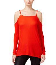 Kensie Womens Cold-Shoulder Pullover Blouse