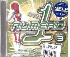 NUMERO 1 VOLUME 3 DJ LUCA PERUZZI CD SEALED SIGILLATO